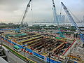 HK Central IFC terrace view 01 construction site 金融街 Finance Street May-2013.JPG