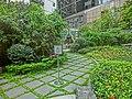 HK Central The Center 中環中心 Park green Sep-2014 stone tiles flooring.JPG
