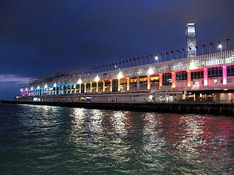 Ocean Terminal, Hong Kong - Exterior view