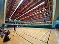 HK SWCC 上環市政大廈 12th Floor 上環體育館 Sheung Wan Sports Centre interior 藍球 basketball court training course October 2019 SS2.jpg