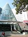 HK TSW 天水圍 Tin Shui Wai 天恩路 Tin Yan Road 嘉湖銀座 Kingswood Ginza Amazing Lime entrance glass Dec 2016 Lnv2.jpg