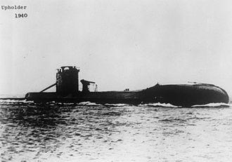 HMS Upholder (P37) - Image: HMS Upholder