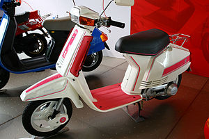 André Courrèges - Honda Tact motor scooter designed by Courrèges