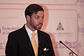 HRH Crown Prince Guillaume of Luxembourg welcoming participants of the 2012 Horasis Global Russia Business Meeting.jpg