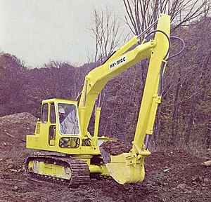 Fluid power -  A hydraulic excavator