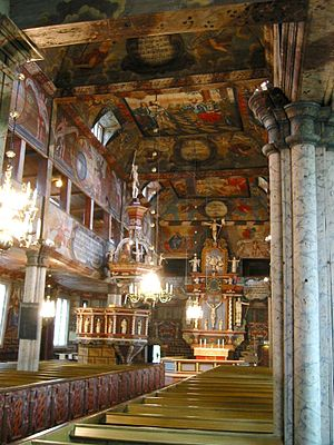 Habo Municipality - Habo church interior