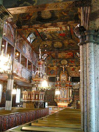 Habo Municipality - Habo church interior
