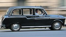 L'Austin FX4, lo storico taxi londinese