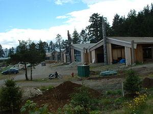 Haida Gwaii - Haida Heritage Centre at Kaay Llnagaay