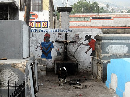 A Vodou shrine in Haiti, photographed in 2012 Haiti Weekend 045 (8070548415).jpg