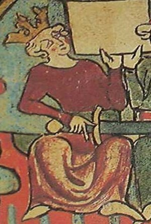 Chivalric sagas - Haakon IV of Norway, as portrayed in Flateyjarbók. A key patron of chivalric sagas.