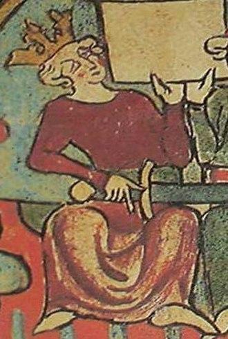 Chivalric sagas - Haakon IV of Norway, as portrayed in Flateyjarbók. A key patron of chivalric sagas.