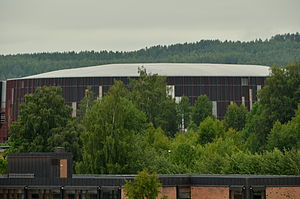 CC Amfi - Exterior view of Hamar Olympic Amphitheatre