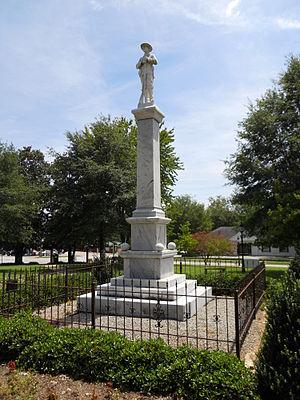 Hamilton, Georgia - Image: Hamilton Georgia Civil War Monument