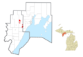 Hannahville Indian Community location3.png