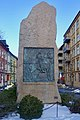 Harald Hårdådes plass bauta av Lars Utne 1905. Harald Sigurdsson Hardrada monument in Oslo, Norway 2019-02-13 a.jpg