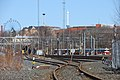 Harbour railway point at the Central railway station in Kluuvi, Helsinki, Finland, 2009.jpg