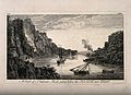 Harbour view of St. Vincents rock taken from the hot wells, Wellcome V0012276.jpg