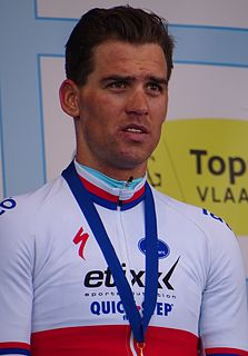 Zdeněk Štybar Czech cyclo-cross cyclist
