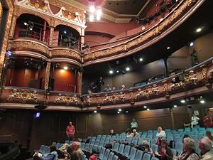 International Gilbert and Sullivan Festival - Part of the interior of the Harrogate Theatre