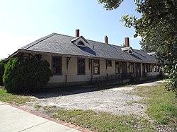 Hartsville Passenger Station, northeast corner.jpg