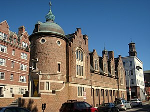 The Harvard Lampoon - View of the Harvard Lampoon Castle