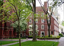 Foto der Massachusetts Hall