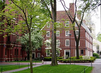Massachusetts Hall (Harvard University) - Massachusetts Hall, May 2005