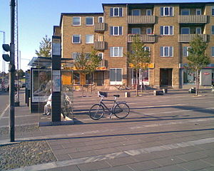 Hasle, Aarhus - Hasle Torv, the central square of Hasle.
