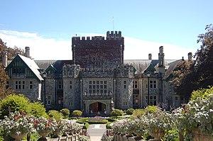 Hatley Castle, near Victoria, British Columbia...
