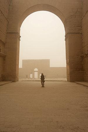 Hatra - Hatra ruins in July 2008