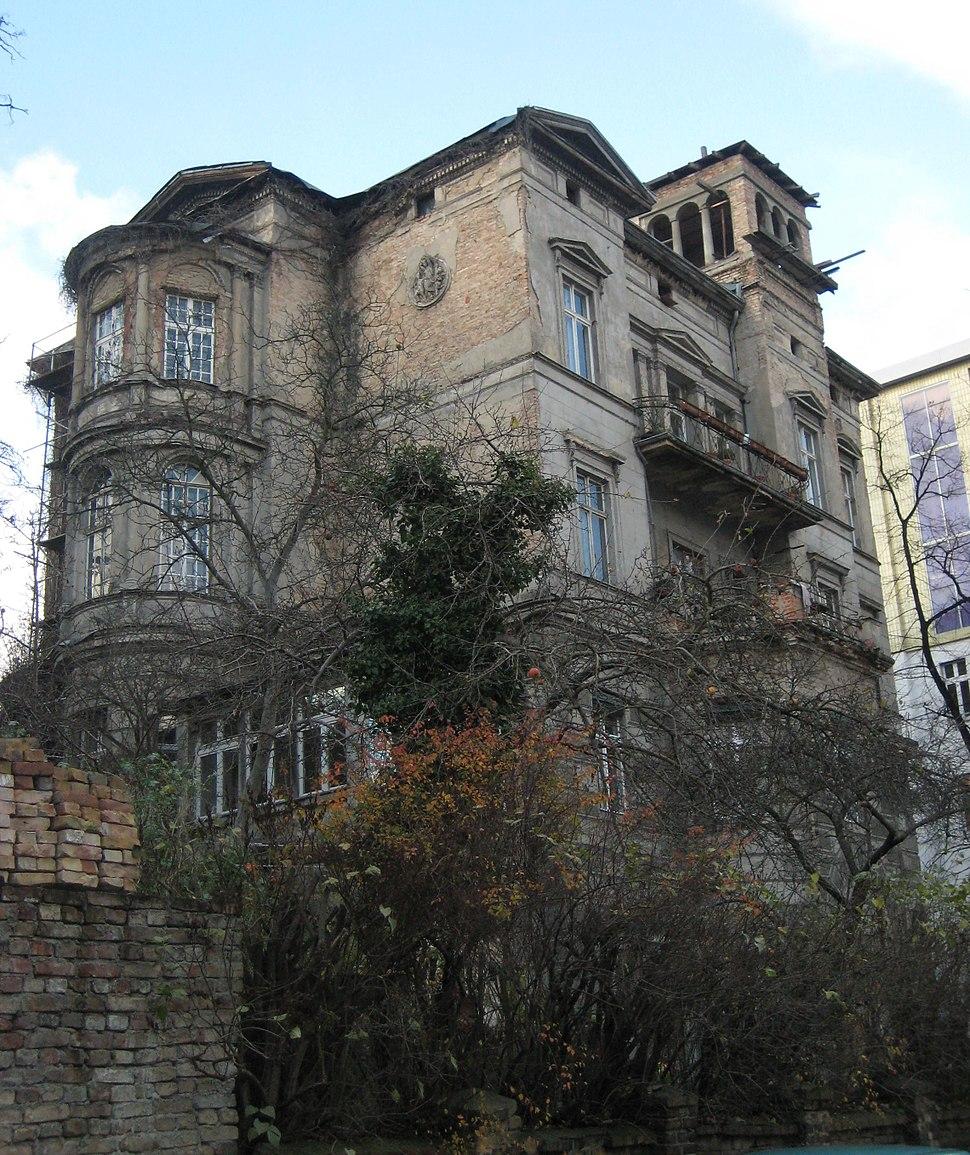 Haus Lindenberg, Gartenseite