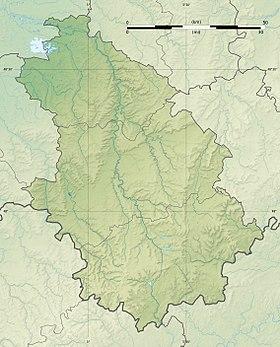 Voir sur la carte topographique de la Haute-Marne