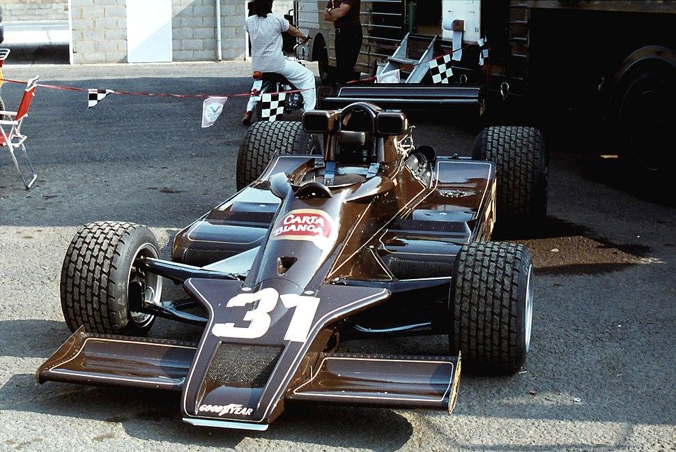 Hector Rebaque Lotus 78