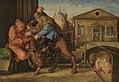 Heinrich Aldegrever (nach) - Der barmherzige Samariter bezahlt den Wirt - 711 - Bavarian State Painting Collections.jpg