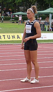Helga Margrét Thorsteinsdóttir at TNT Fortuna Meeting in Kladno 16June2011 019.jpg