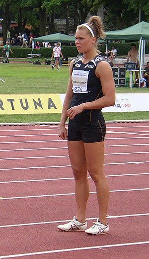Helga Margrét Þorsteinsdóttir - Helga Margrét Þorsteinsdóttir at the 2011 TNT – Fortuna Meeting in Kladno