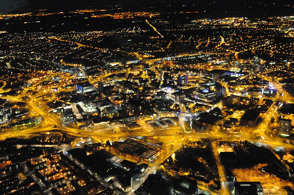 Helicopter - Night Time Photos (8739866021)