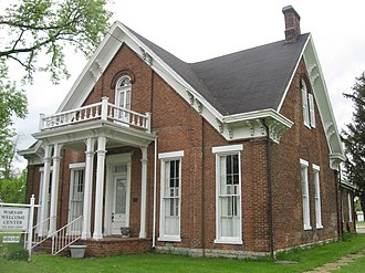 National Register of Historic Places listings in Gallatin County, Kentucky - Image: Henry C. Peak House in Warsaw