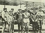 Henry Woodhouse with French aviators.jpg