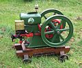 Hercules open crank engine, Castle Combe.jpg
