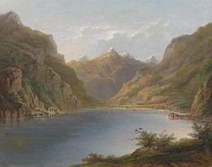 Hermann Ottomar Herzog - Vierwaldstättersee, 1882