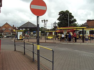 Heswall - Heswall bus station
