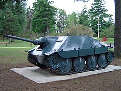 Jagdpanzer 38(t) w Base Borden Military Museum
