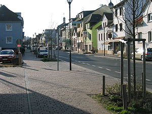 Heusenstamm - Frankfurter Straße – the main shopping street