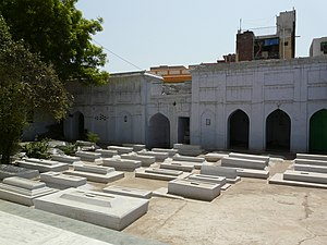 Hijron Ka Khanqah - Tombs of eunuchs at Hijron ka Khanqah