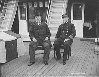 Hilary A. Herbert - Secretary Herbert meeting with Commander Robert Lees Phythian