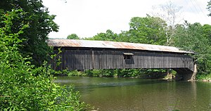 none  Hillsgrove Covered Bridge over Loyalsock Creek in 2008