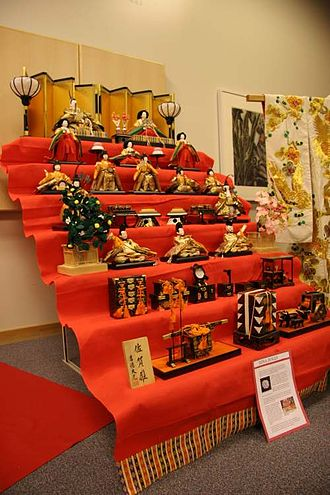 Hinamatsuri - Seven-tiered Hina doll set