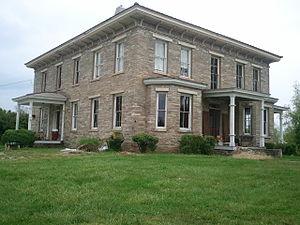 The Meadows (Fletcher, North Carolina) - Image: Historic Meadows Blake House in Fletcher, NC